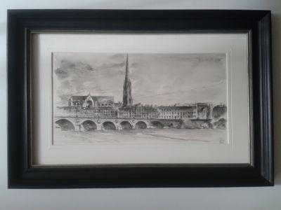 Pont de Pierre en regardant vers Saint Michel
