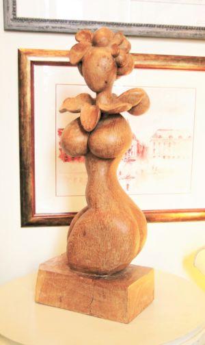 Sculpture Chêne (profil)