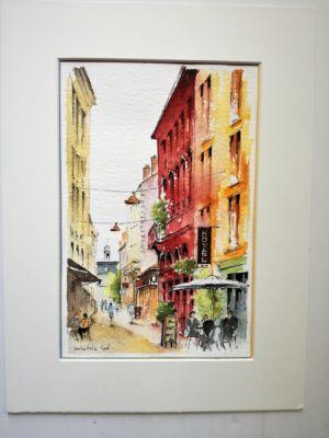Rue Daurade depuis rue Sainte Catherine