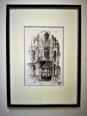 Angle rue Fernand Philippart, Bordeaux