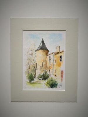 Malromé Chateau de Toulouse Lautrec