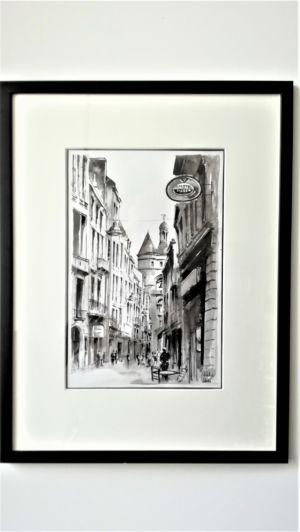 La Grosse Cloche depuis la rue St James