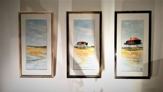 TRIPTYQUE CABANES TCHANQUEES